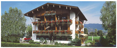 Hotel Ostler in Bad Wiessee am Tegernsee.